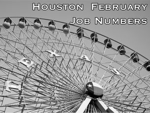 Houston Job Numbers